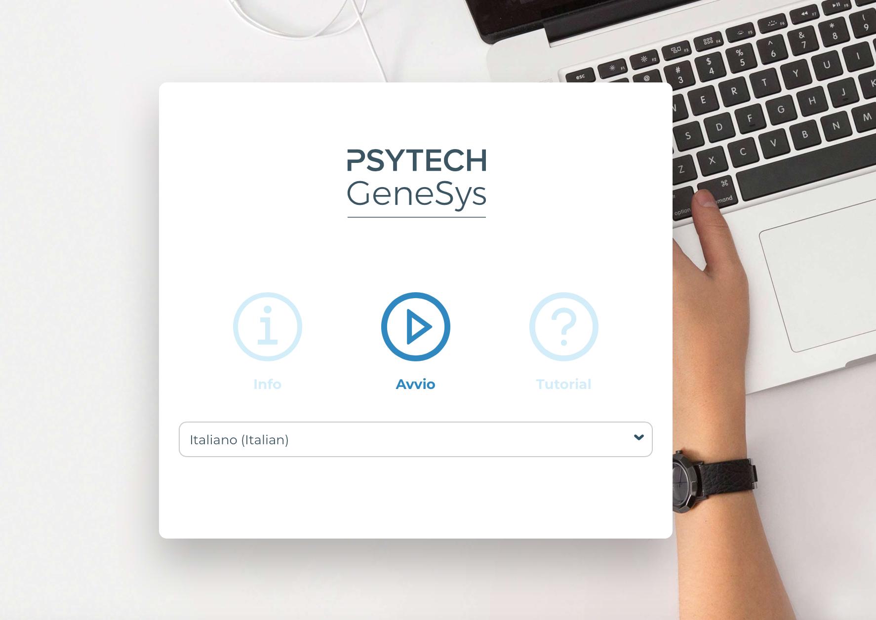 Test psicoattitudinali nel software GeneSysOnline