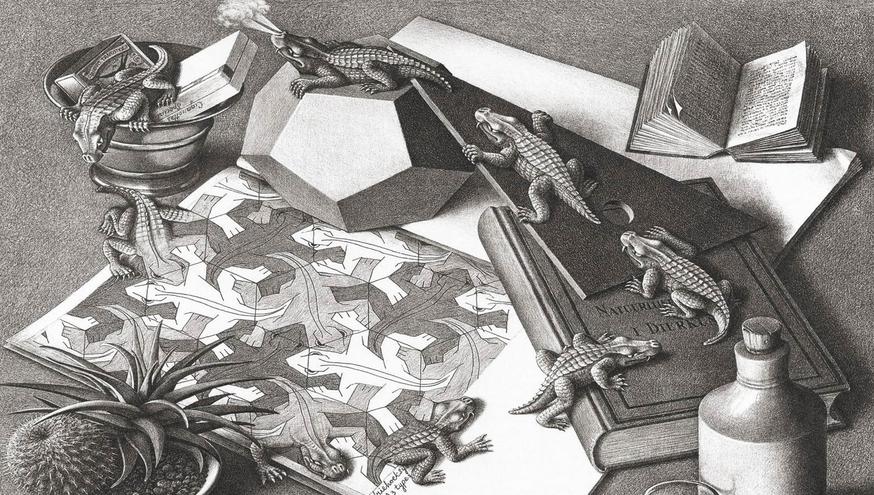 Rettili di Escher